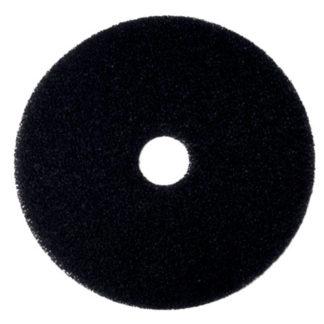 "15"" Black Floor Pads-0"
