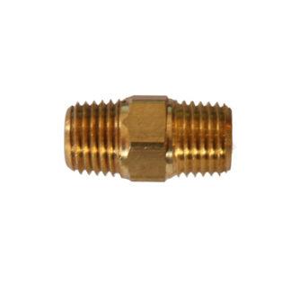 """1/4"""" BSP Brass Bulk Head-0"""