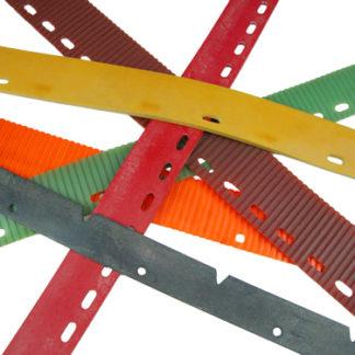 "Tennant Model T3 & T5 (New Type) Rear Squeegee Blade 32.625 x 2.125 x 3/16"" Para Red 35SH WCS No. SQTE0003-0"