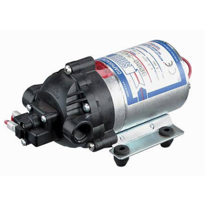 Shurflo Diaphragm Pump, 100 PSI, 12V, 8000 543 238-0