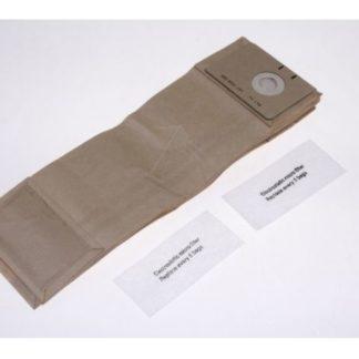 NILFISK Upright Vacuum Cleaner Bags, 1471058500
