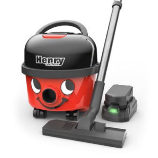 Numatic Henry Cordless HVB160 Battery Powered Vacuum Cleaner (2 Batteries)-0